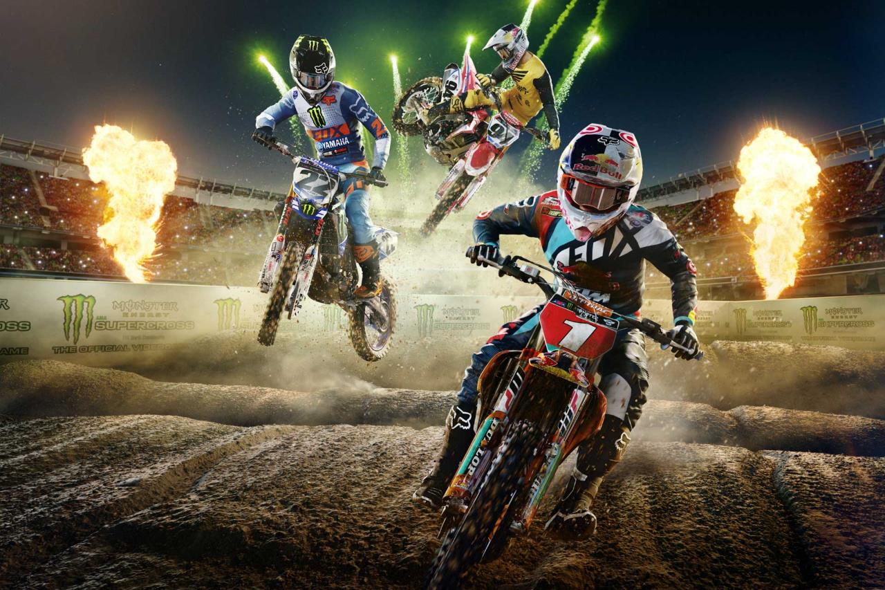 Monster Energy Supercross The Official Videogame Review
