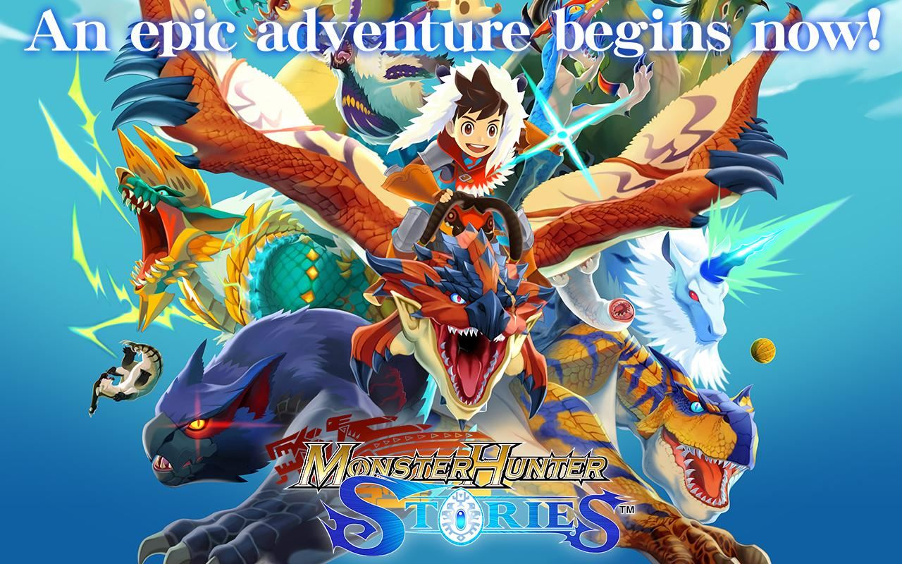 Monster Hunter Stories Now Available on Android, iOS Globally