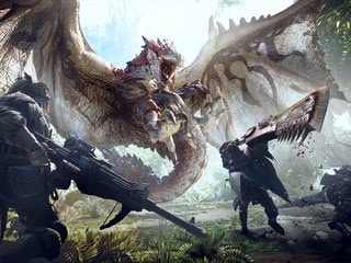 Monster Hunter World Is a Jurassic Park Role-Playing Game With Cats