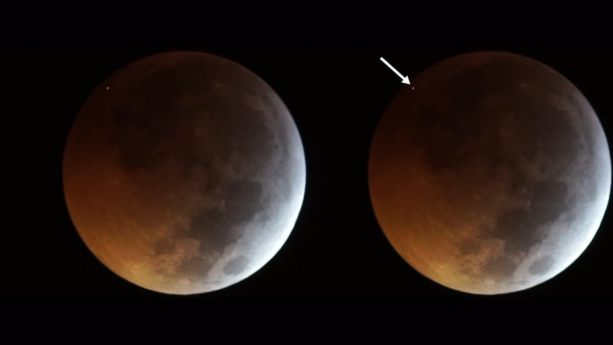 Space Rock Crashed Into the Moon at Over 60,000kmph During Lunar Eclipse, Scientists Claim