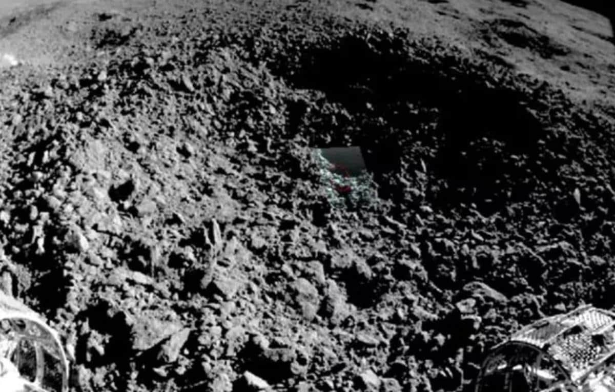 Unusual Gel-Like Substance Found on Far Side of Moon Finally Identified
