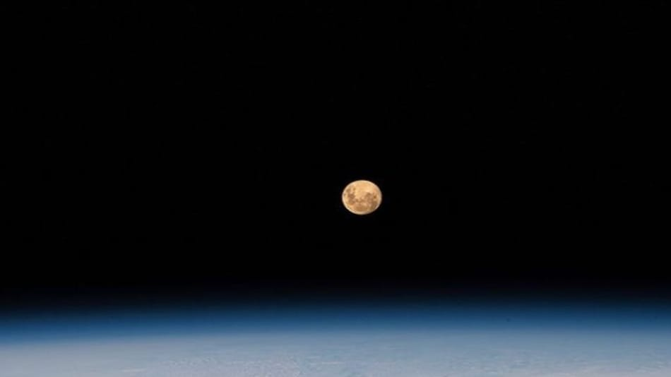 Pink Supermoon: See How Stunning The Celestial Event Looked From Space