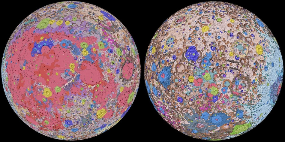 NASA Releases Stunning New Moon Map to Help Future Missions