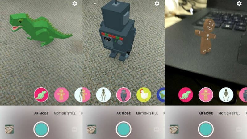 Google Motion Stills App Brings AR Stickers to All Android Smartphones