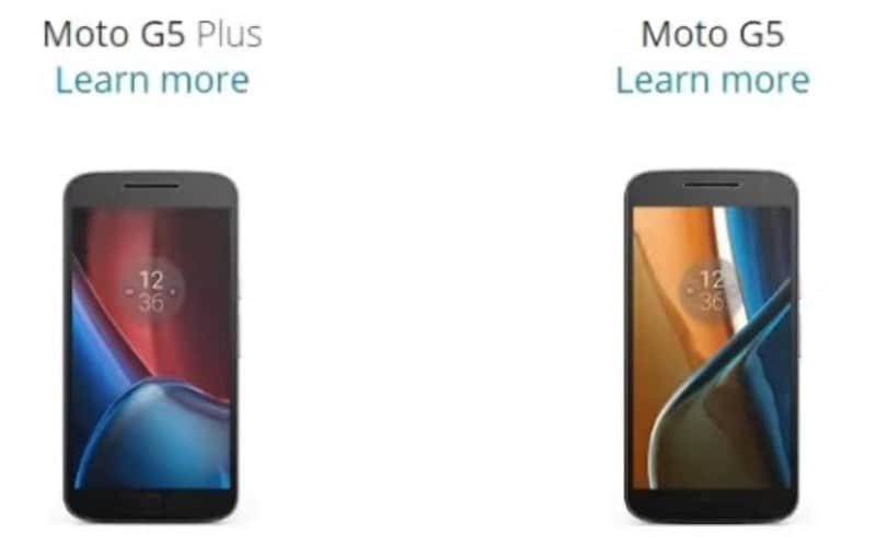 Moto G5 and Moto G5 Plus Purported Specifications, Release Date, Images Leaked