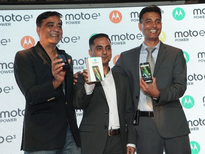 100,000 Moto E3 Power Smartphones Sold in a Day, Claims Motorola India