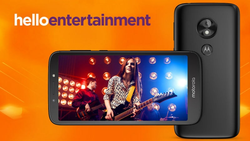 Motorola launches Moto E5 Play Android Go Edition