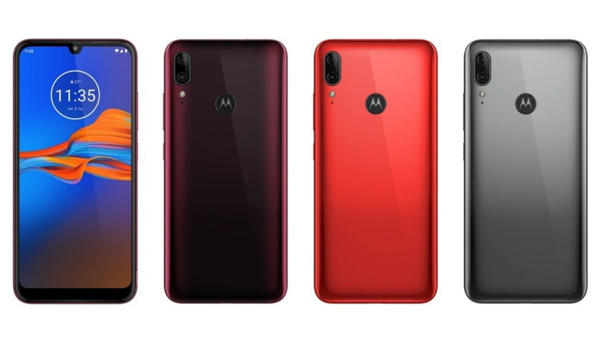 Moto E6 Plus Leaked Renders Tip Dual Rear Cameras, Fingerprint Sensor, Waterdrop Notch