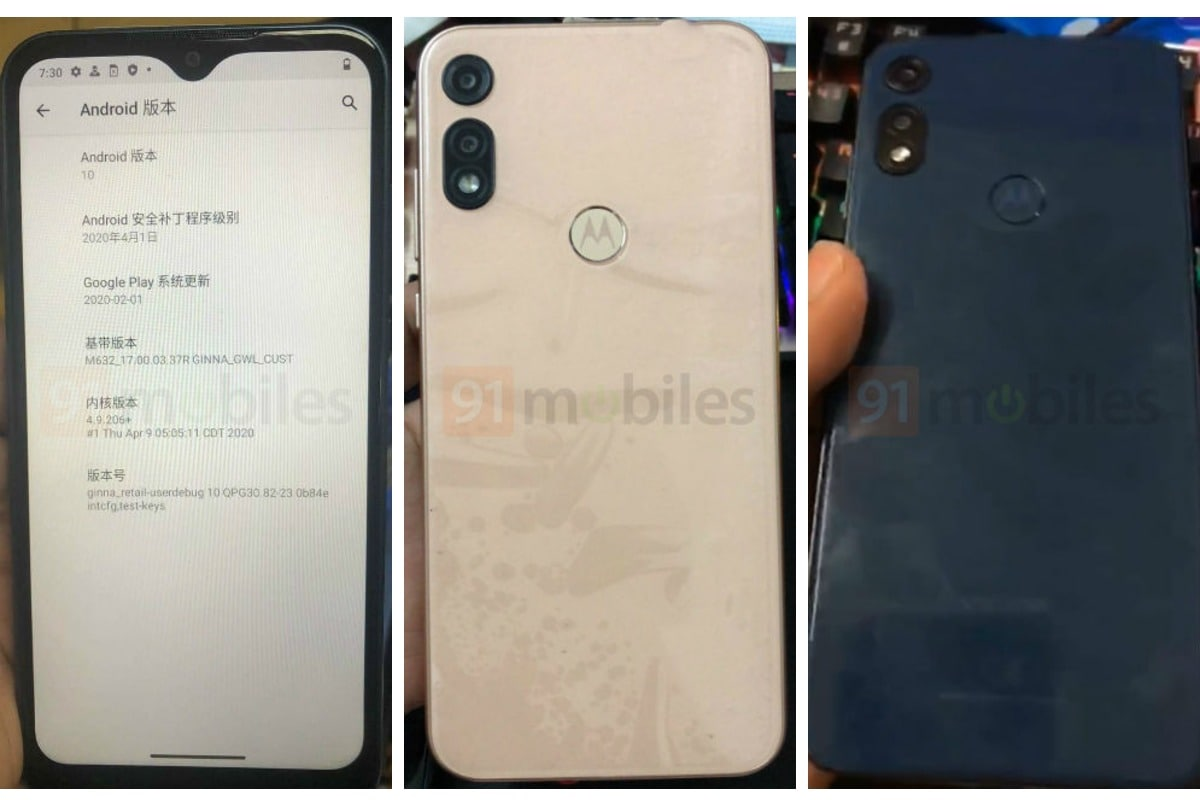 Moto E7 Live Images Surface Online, Hands-on Video Leaked Showing Design
