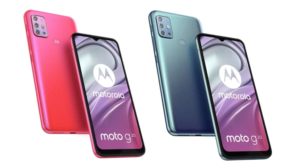 Moto G20 Specifications and Renders Surface Online, Could Be Priced Under Rs. 10,000