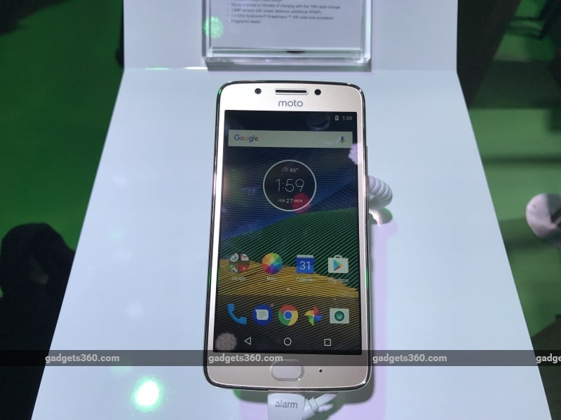 Moto G5 India Launch Set for Today; How to Watch Live Stream