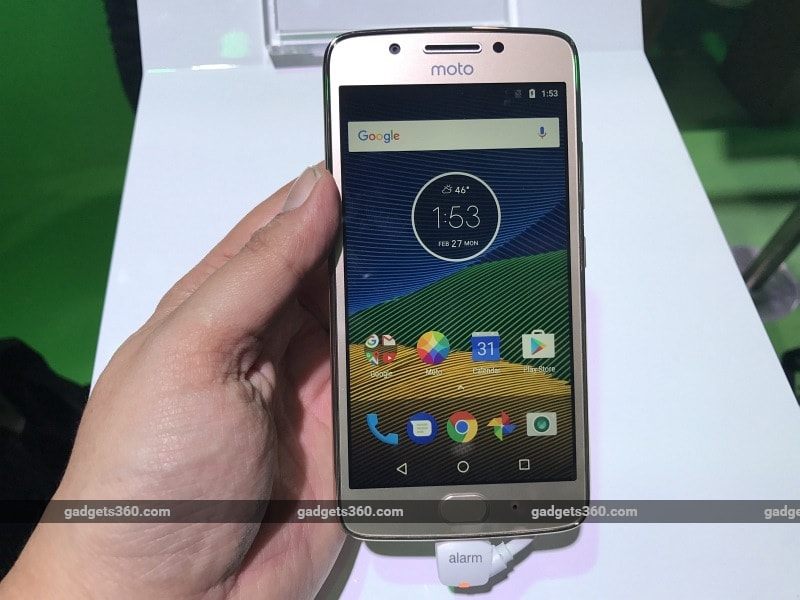 Moto G5 India Launch on April 4, Confirmed to Be Amazon-Exclusive