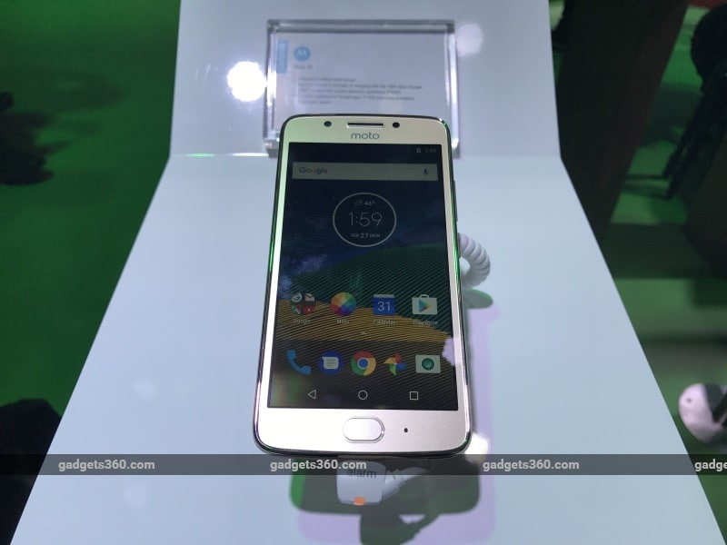 moto g5 front gadgets360 Moto G5