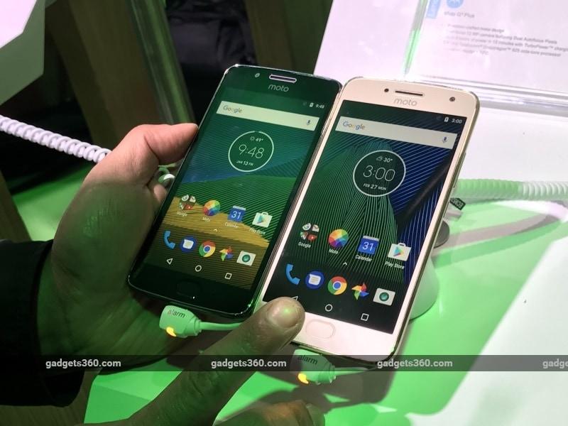 Moto G5, Moto G5 Plus in Pictures