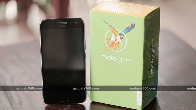 Moto G5 Plus Is the Fastest Selling Smartphone on Flipkart in Its Price Segment