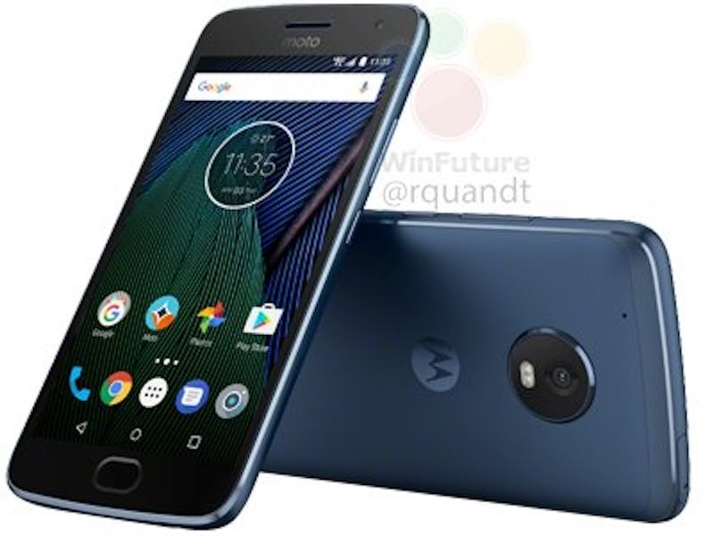Moto G5 Plus Blue Sapphire Colour Variant Also Spotted