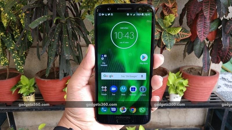 Moto G6 और Moto G6 Play भारत में लॉन्च, जानें कीमत