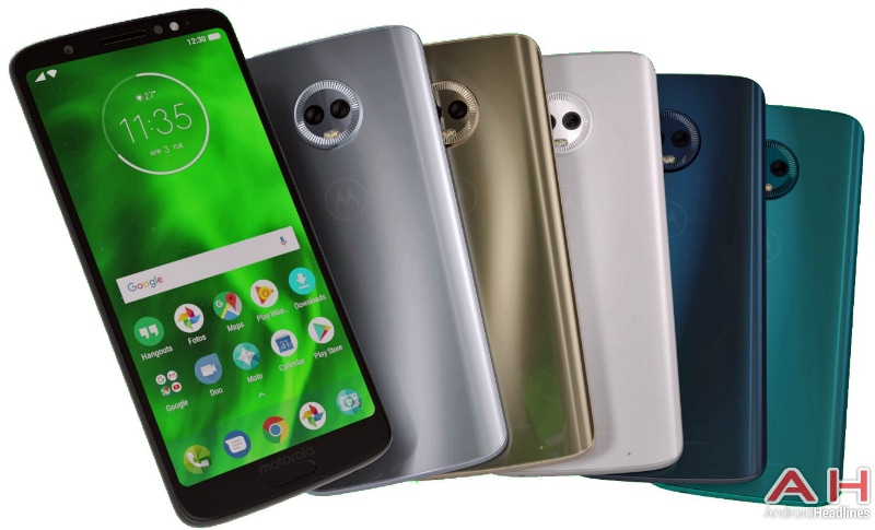 Moto G6 Plus Gets Its Design, Colour Variants, and Specifications Leaked Ahead of MWC 2018