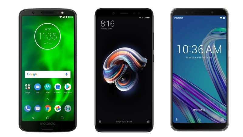 Moto G6 vs Redmi Note 5 Pro vs Asus ZenFone Max Pro M1: Price in India, Specifications Compared