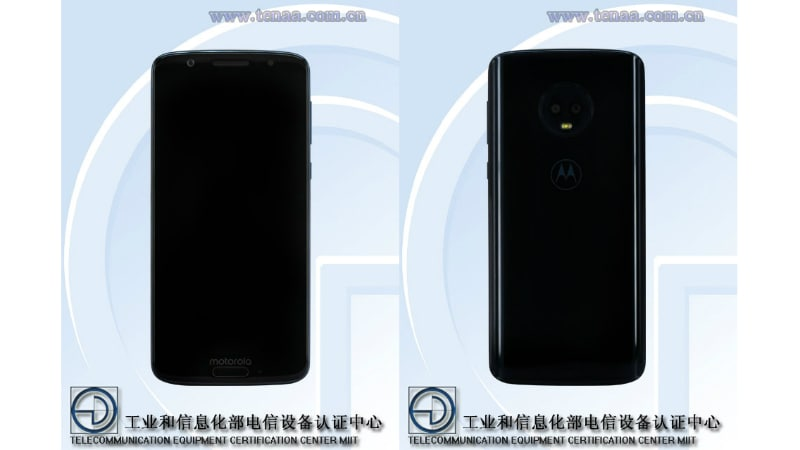 Moto G6 Images, Specifications Spotted on TENAA Certification Site
