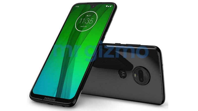 Moto G7 Press Render Leaked, Shows Waterdrop-Style Notch, Dual Rear Cameras