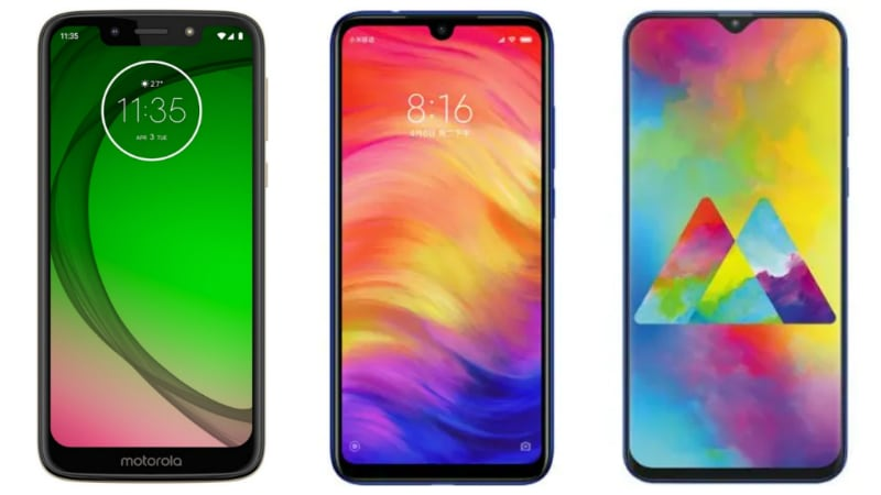 Moto G7 Play vs Redmi Note 7 vs Samsung Galaxy M20: Price, Specifications Comparison