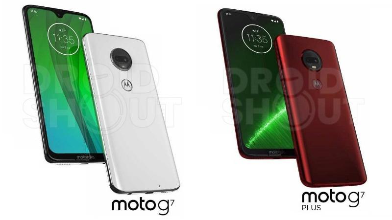 Moto G7, Moto G7 Plus, Moto G7 Power, Moto G7 Play Leaked in Press Renders