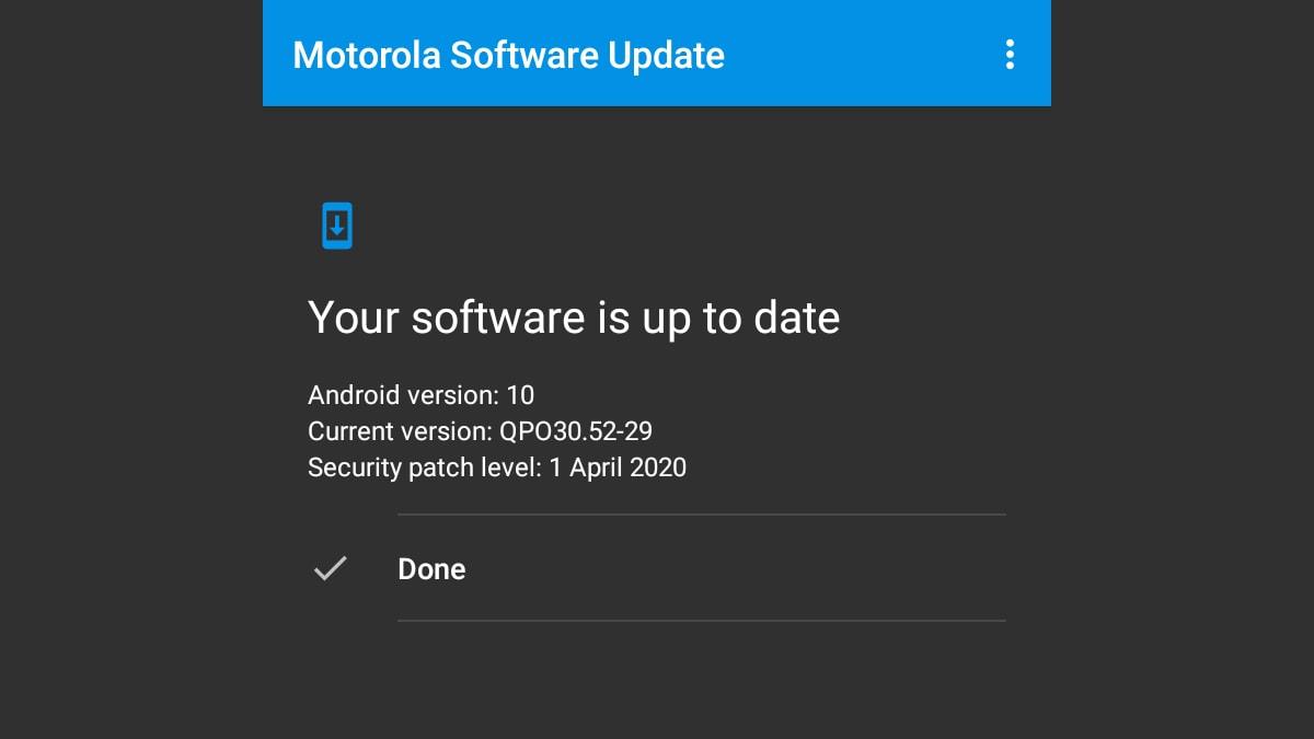 Moto G7 Power को मिलना शुरू हुआ एंड्रॉयड 10 अपडेट