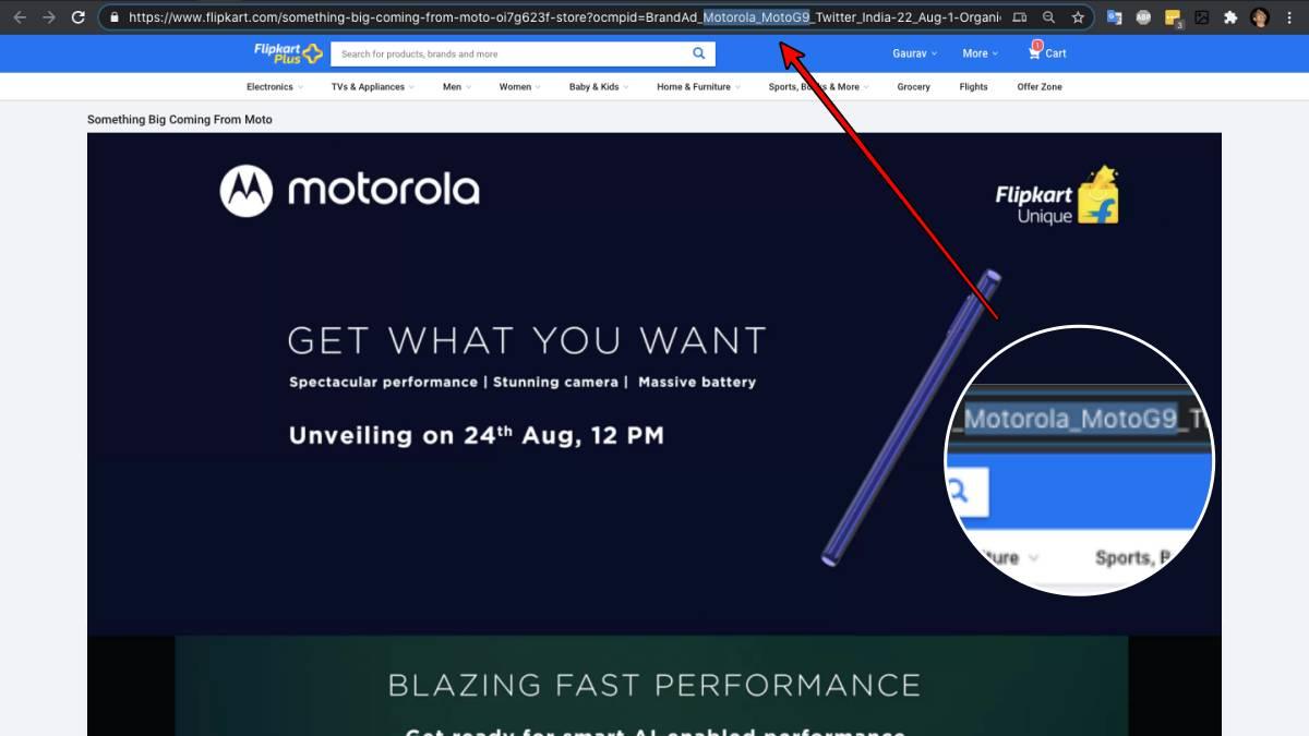 moto g9 teaser fk Moto G9