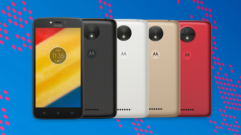 Moto C, Moto C Plus With Front Flash and Android 7.0 Nougat Launched
