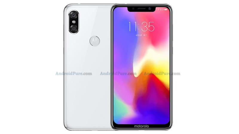 Motorola P30 leaked renders hint at an Apple iPhone X-inspired design