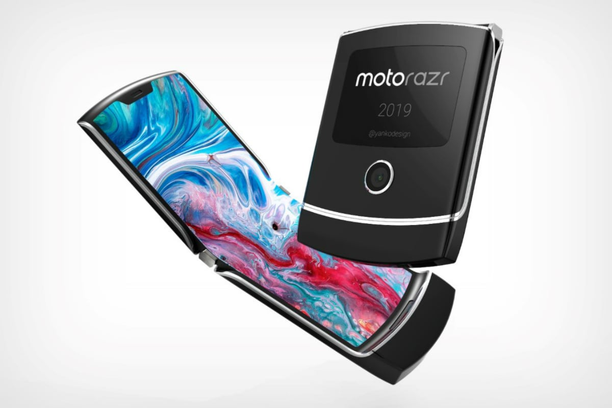 Motorola's $1500 foldable RAZR 'flip' phone is coming in November