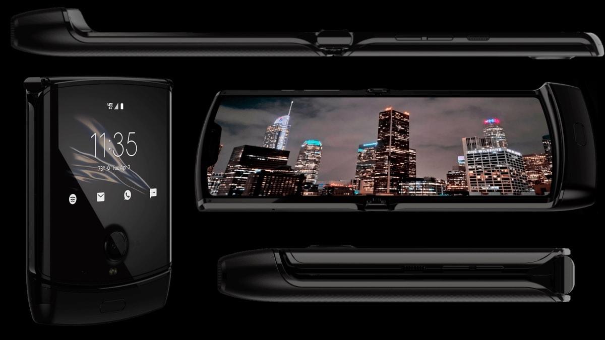 moto razr inside Motorola Razr 2019