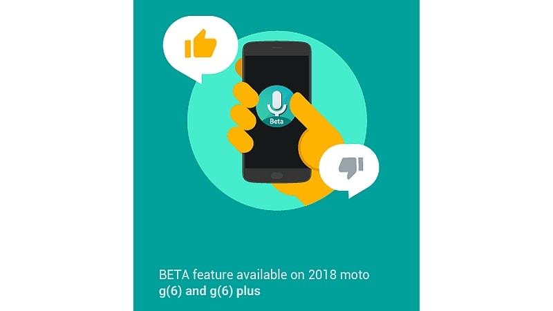 moto voice beta google play Moto Voice Moto G6 Google Play