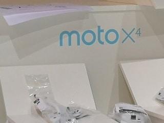 Moto X4 को आईएफए 2017 में लॉन्च किए जाने की उम्मीद
