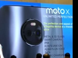 Moto X4 'Final Design' Leaked, Shows Dual Cameras and AI Integration