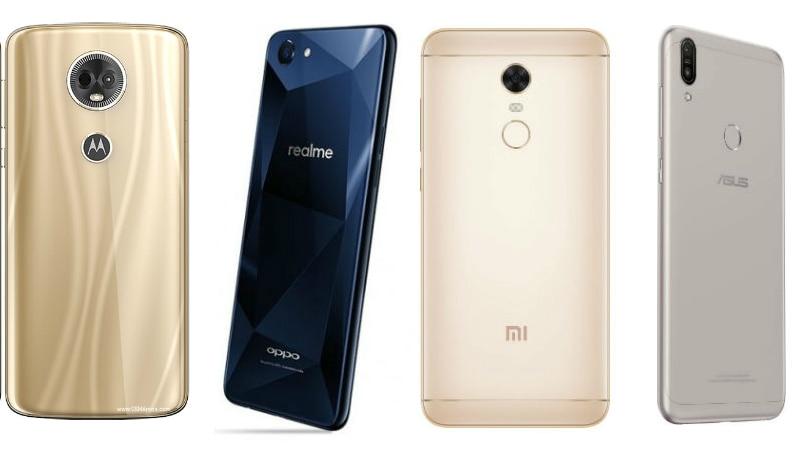 9e842c2d38 Moto E5 Plus vs Redmi Note 5 vs Asus ZenFone Max Pro M1 vs Realme 1 ...