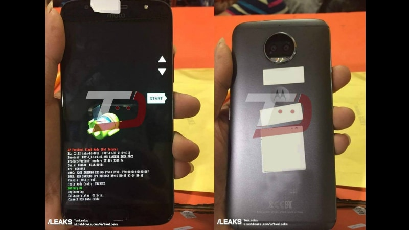 Moto G5S Plus Specifications Tipped by Fresh Leaked Images
