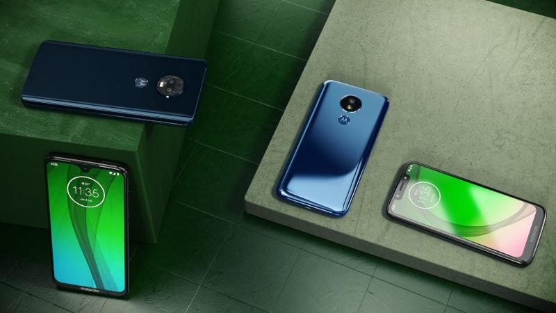 Moto G7, Moto G7 Plus, Moto G7 Power और Moto G7 Play से उठा पर्दा, जानें खासियतें
