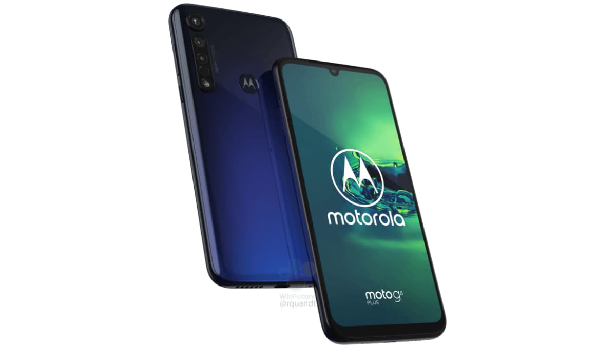 Motorola's Moto G8 Plus with triple rear cameras leaks out