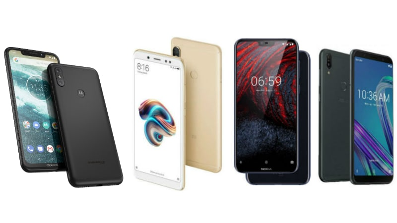 Motorola One Power vs Redmi Note 5 Pro vs Nokia 6.1 Plus vs Asus ZenFone Max Pro M1: Price in India, Specifications Compared