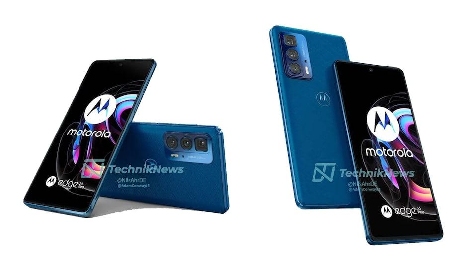 Motorola Edge 20, Motorola Edge 20 Pro, Motorola Edge 20 Lite Renders, Price, Specifications Leak Ahead of Launch