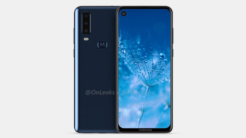 Unknown Motorola phone with four cameras, waterdrop notch spotted online