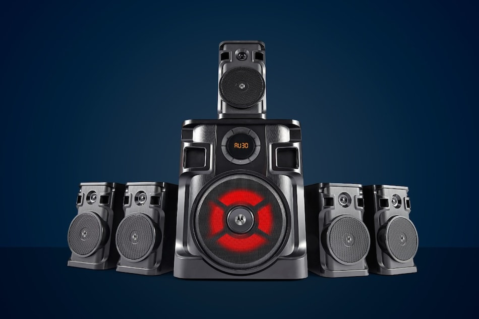 Motorola AmphisoundX 80W, 150W, 160W Home Theatre Systems Launched in India, Priced Starting at Rs. 7,999