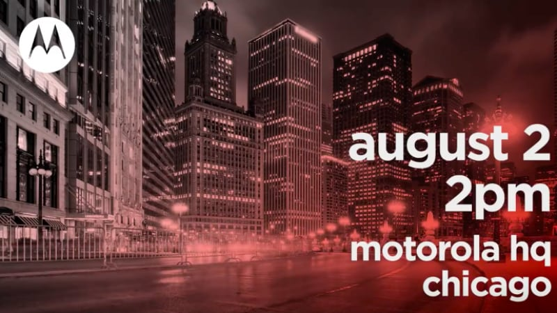 Moto Z3, Moto One, Moto One Power Expected at August 2 Launch Event