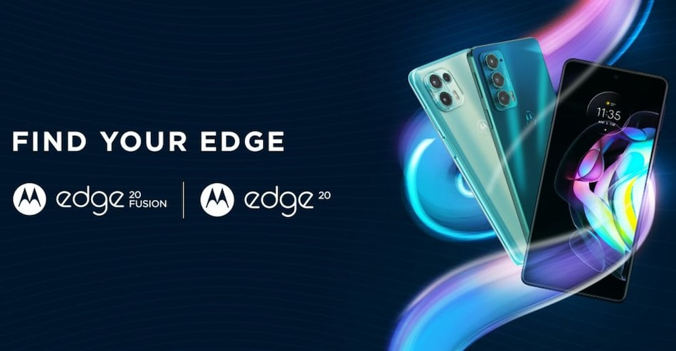Motorola Edge 20, Edge 20 Fusion to Launch in India on August 17, Flipkart Availability Confirmed