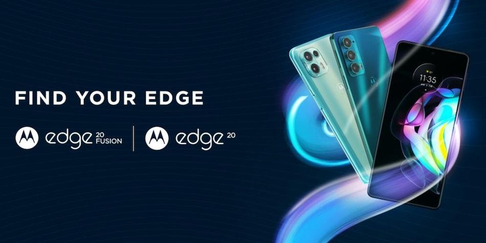 Motorola Edge 20 Fusion और Motorola Edge 20 की भारतीय कीमत लॉन्च से पहले लीक