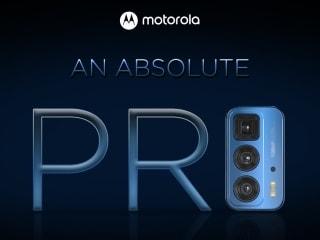 Motorola Edge 20 Pro India Launch Teased, Flipkart Suggests October 1 Release Date