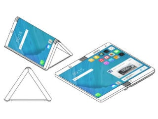 Motorola Files Patent for Foldable Smartphone; Microsoft Also Planning One With Three Displays
