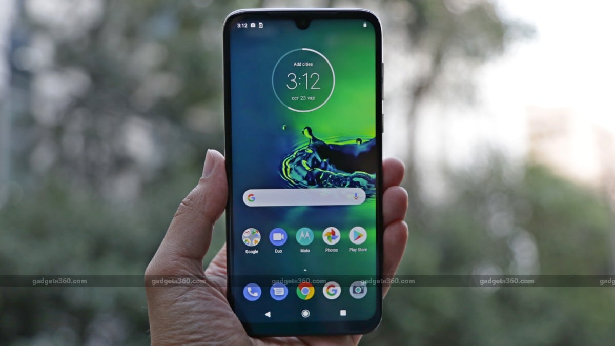 Moto G8 Plus With Triple Rear Cameras Dedicated Action Cam Snapdragon 665 Soc Launched Price In India Specifications Technology News